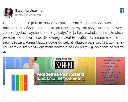 szkoła tańca marki - Akademia tańca Pani Szafki - opinie