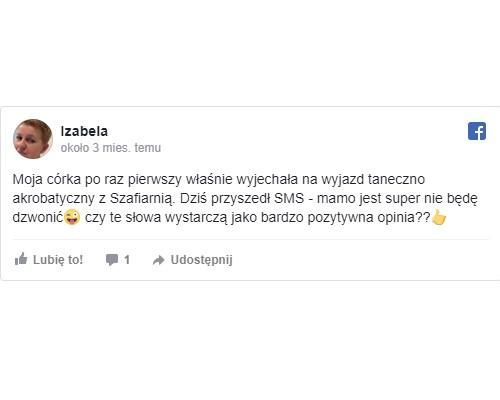 opinie oszkole tańca wMarkach Akademia Pani Szafki