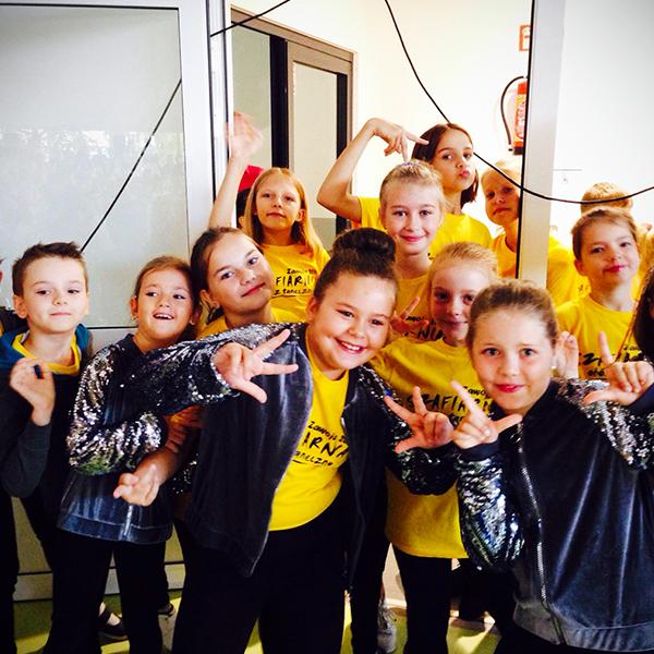 pokazy taneczne dzieci zAkademia Pani Szafki
