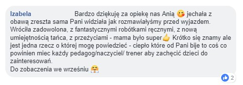 komentarz rodzica oakademia pani szafki