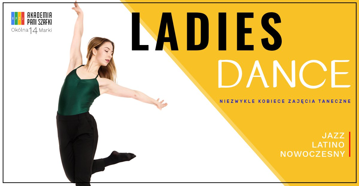 zajęcia taneczne dla kobiet wmarkach