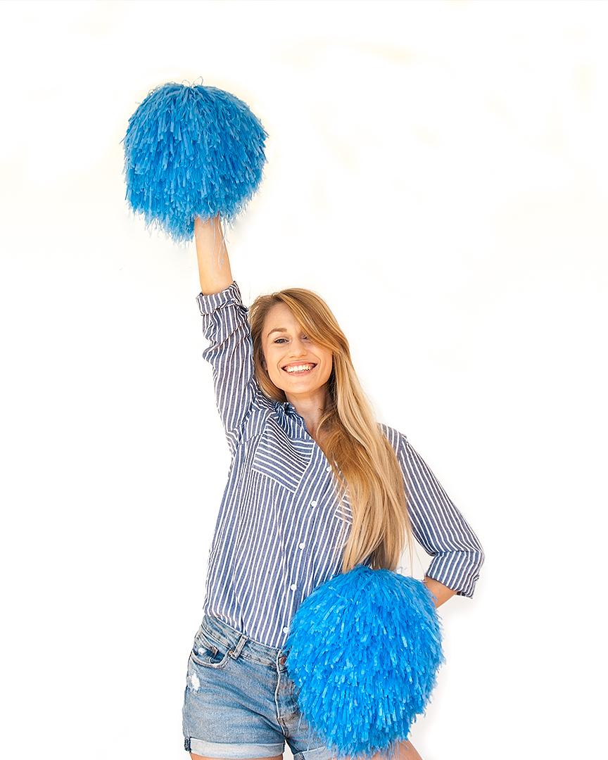Justyna Piasecka - instruktorka zajec cheerleaders wakademia pani szafki marki