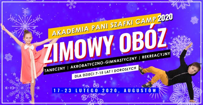 Wyjątkowe obozy zimowe dla dzieci 2020. Wybierz swój Camp: taneczny, akrobatyczno-gimnastyczny, rekreacyjny.