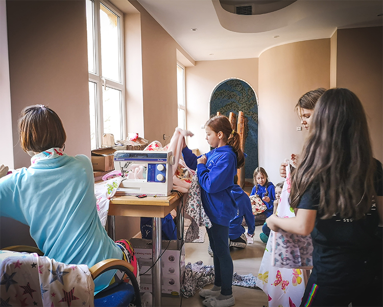 warsztaty zrekodziela naobozie rekreacyjnym dla dzieci