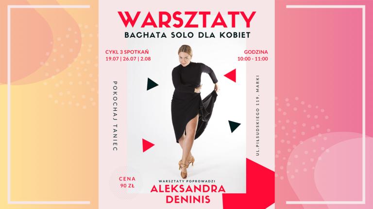 Warsztaty Bachata Solo dla kobiet