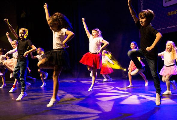 zajęcia taneczne dla dzieci Broadway Dance