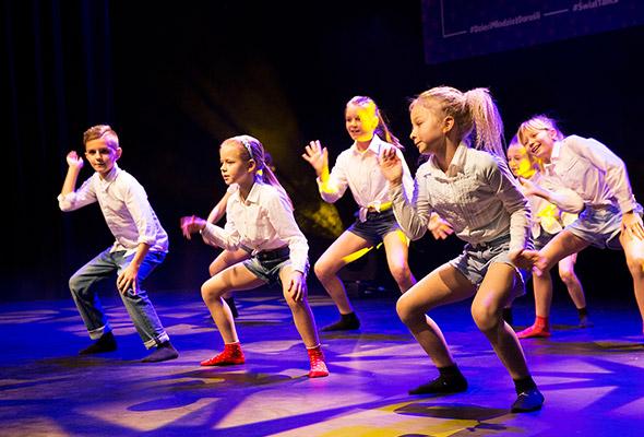 Taniec jazzowy dla dzieci wMarkach