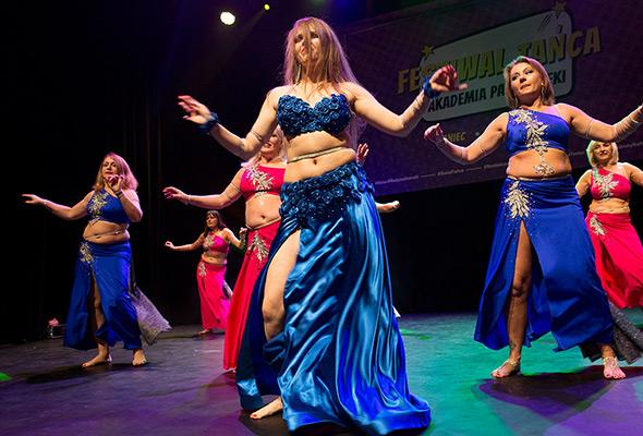 Taniec orientalny dla kobiet wMarkach