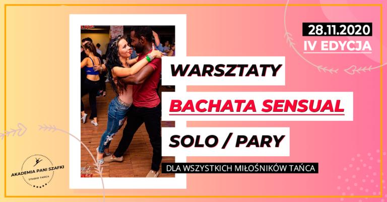 Bachata Sensual Solo iPary – wyjątkowe warsztaty zwyjątkowymi instruktorami