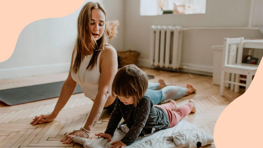Yoga Family wMarkach