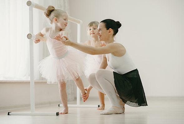 balet dla dzieci Marki