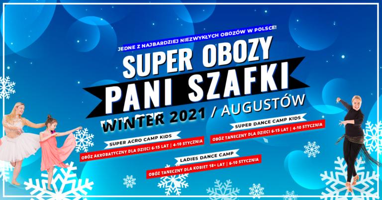 Obozy Zimowe 2021 dla dzieci idorosłych – Ferie zimowe ztańcem iakrobatyką