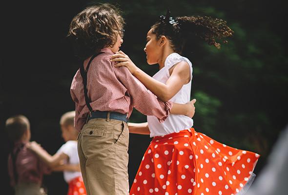 taniec towarzyski dla dzieci Marki