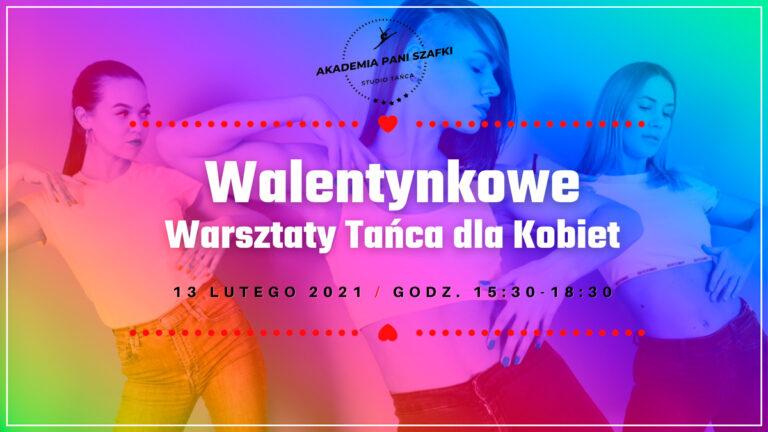 Walentynkowe warsztaty tańca dla kobiet wAkademia Pani Szafki