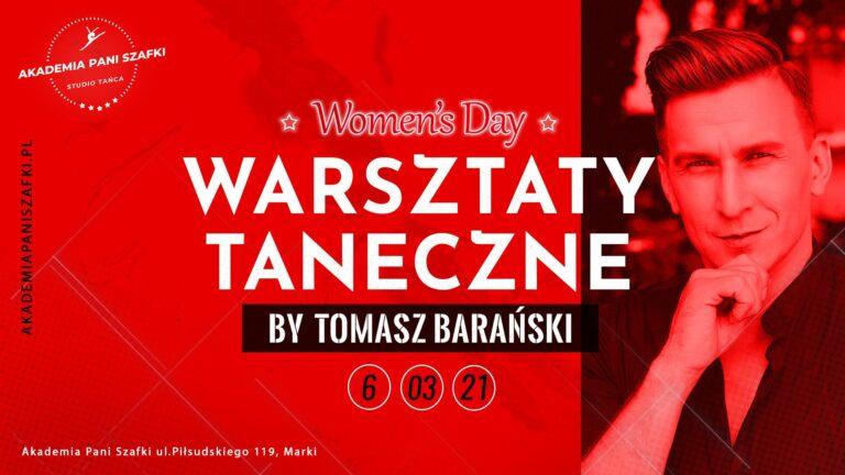 Warsztaty taneczne zTomaszem Barańskim zokazji Dnia Kobiet
