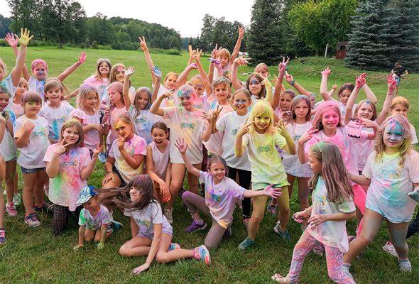 letni oboz rekreacyjny dla dzieci