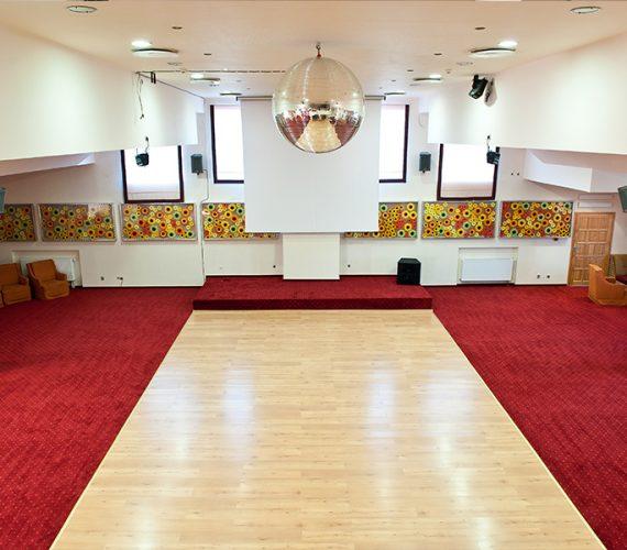 Sala Taneczna podczas Obozu tanecznego wAugustowie - Akademia_Pani_Szafki