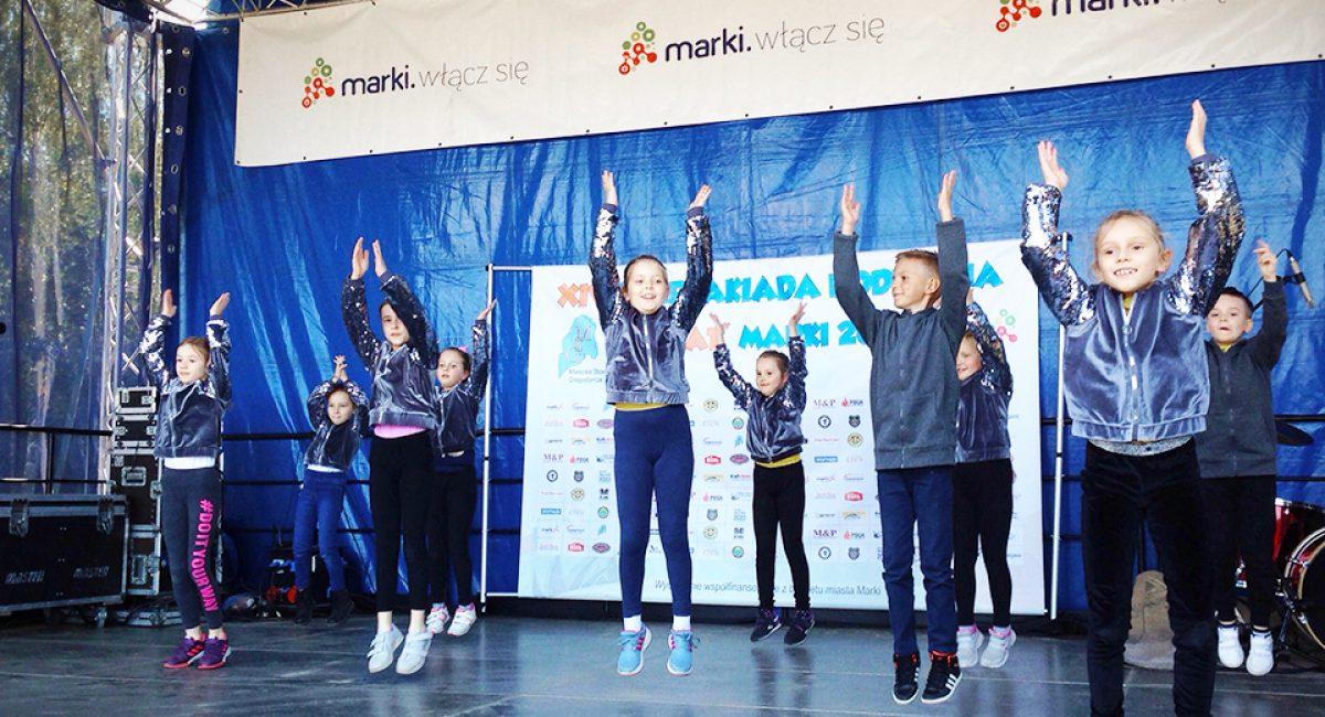 Pokaz taneczny dzieci wMarkach