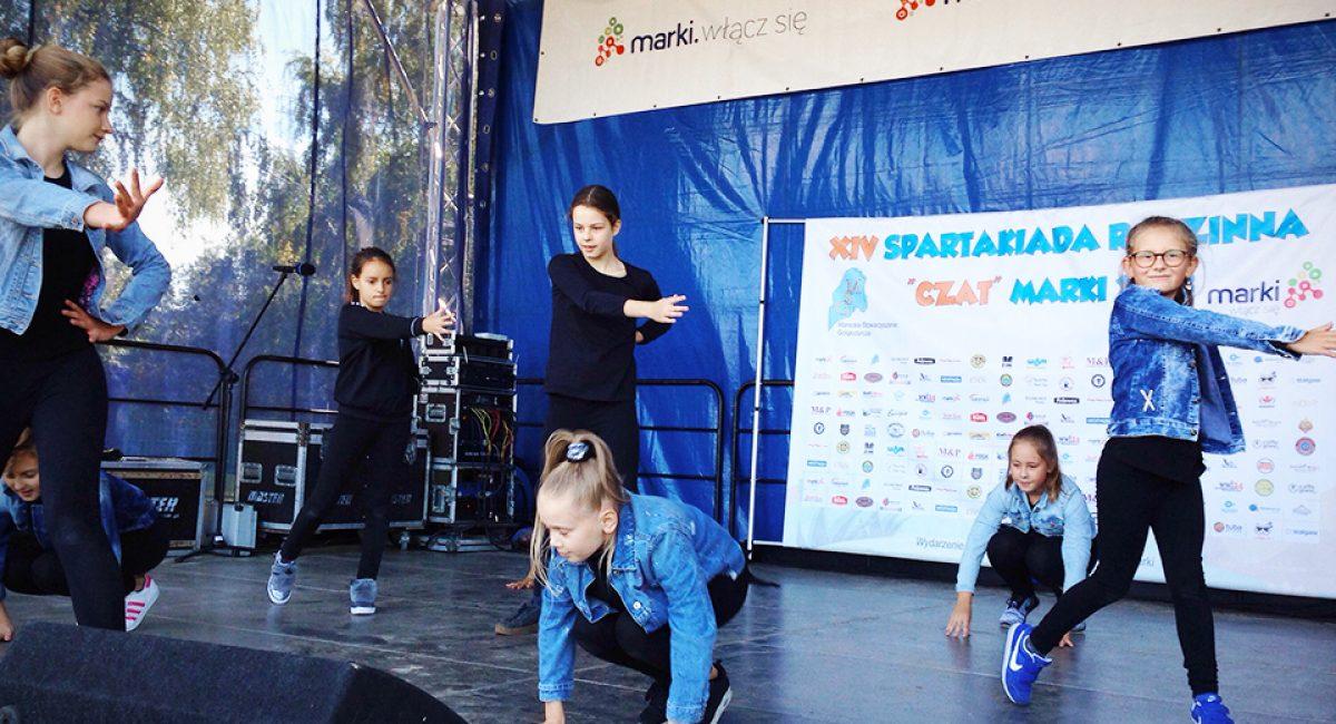 Pokaz taneczny dzieci zAkademia Pani Szafki