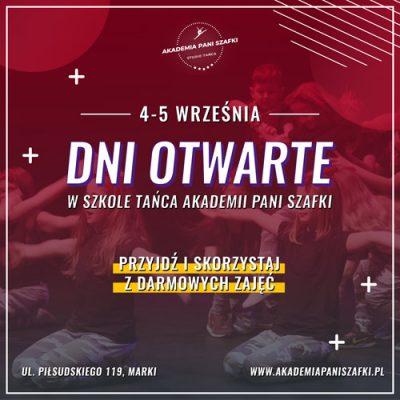 szkoła tańca wmarkach Akademia Pani Szafki