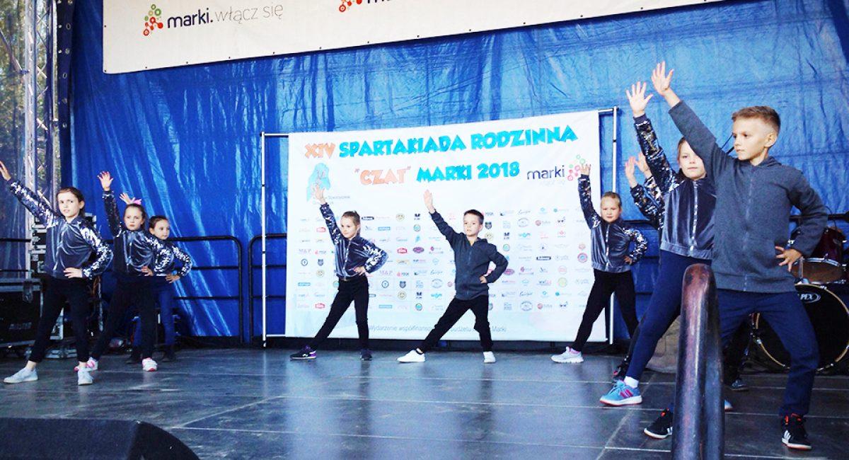 Pokaz grup tanecznych Spartakiada Rodzinna Marki