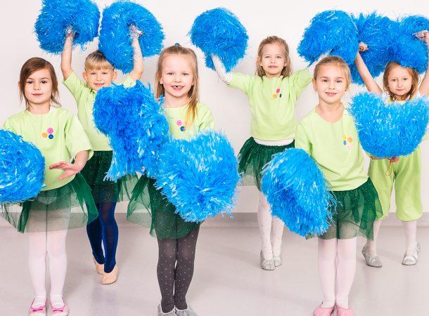 Zajecia taneczne dla dzieci cheerleading marki